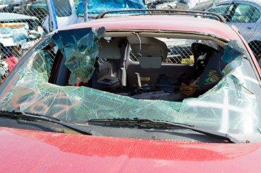 Auto Collision Junkyard Detail
