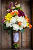 Svatební kytice, květiny ve směsi