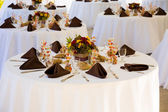 Fotografie Wedding Reception Tables