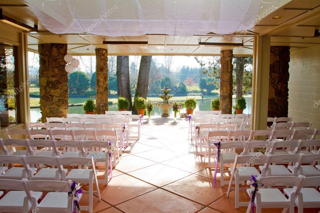 Pictures Wedding Venues Indoor Wedding Venue Stock Photo
