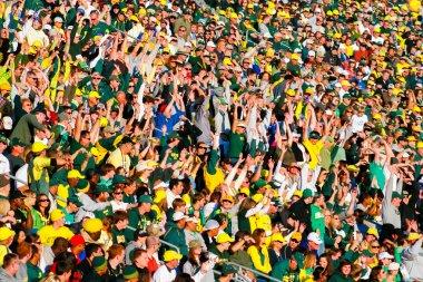 Autzen Stadium Crowd In Eugene Oregon