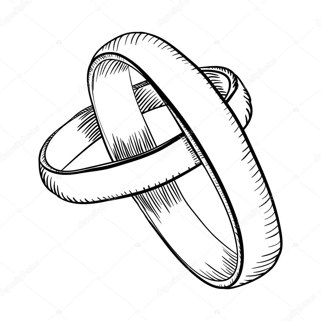 It's just a graphic of Massif Drawing Of A Ring