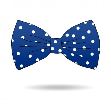 Bow tie. Vector illustration