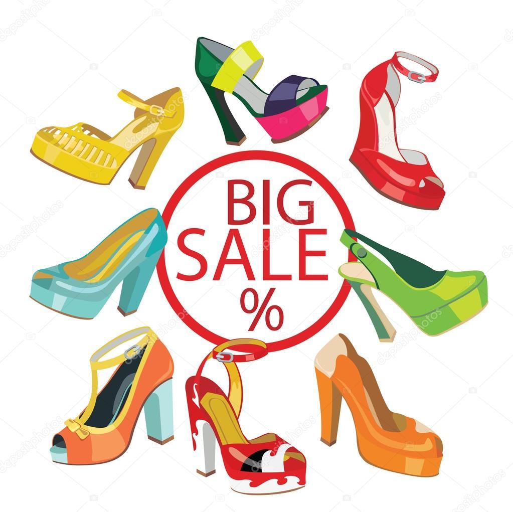 Colorful fashion women's High heel