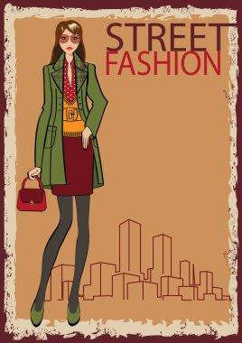 Lovely Trendy girl.
