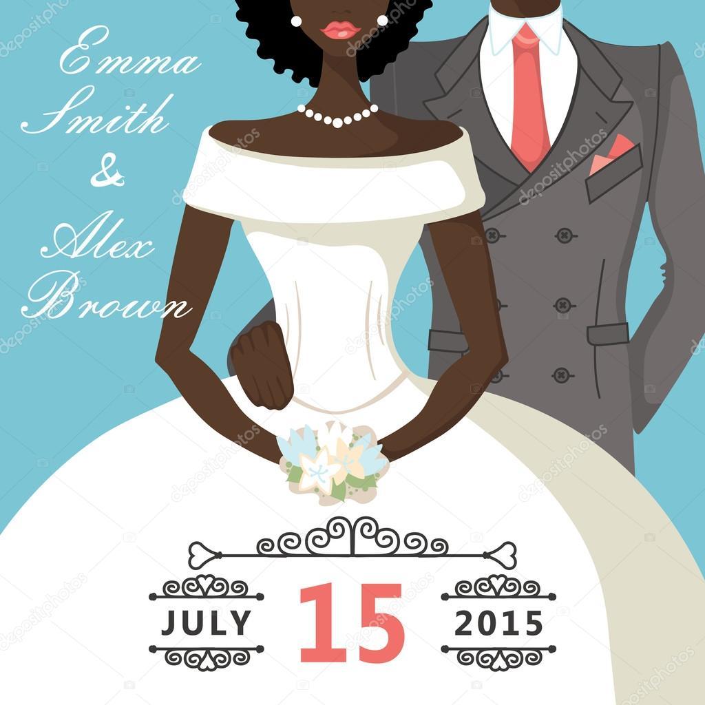 Cartone animato sposi — foto stock tatiana kost