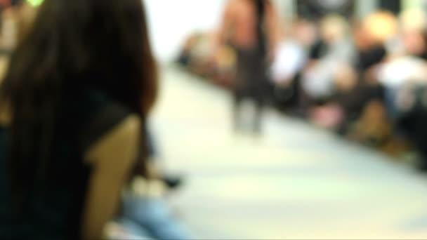 Fashion show at catwalk,walk on the catwalk