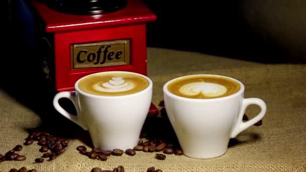 kávé, cappuccino, eszpresszó, barista