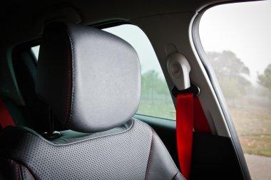 Sport seat in sport car