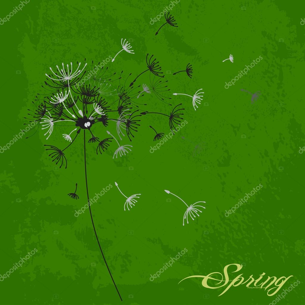 Spring abstract background, textures