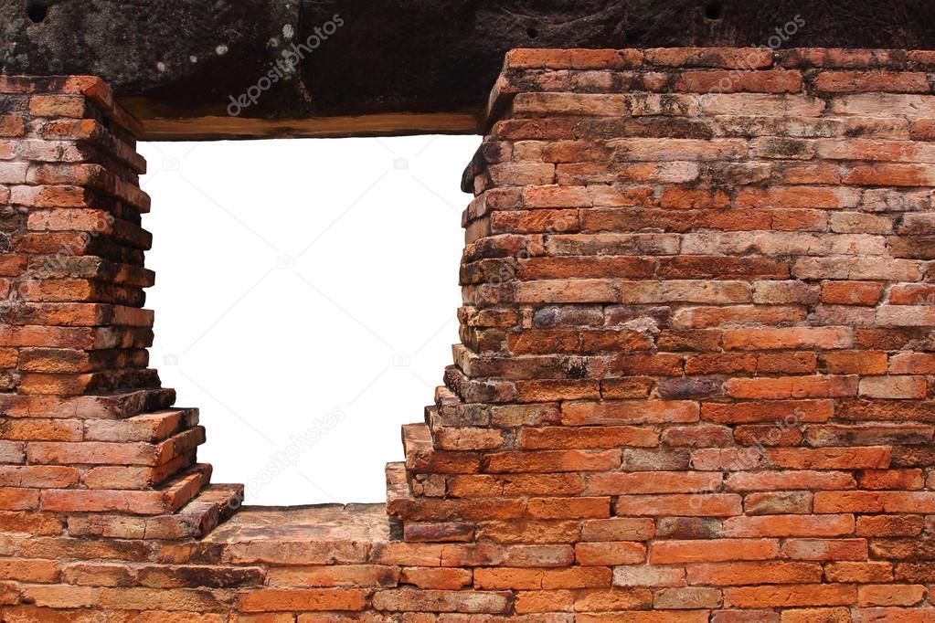 mauer mit loch loch in alte mauer loch isoliert mit beschneidungspfad f r ihren ein loch in. Black Bedroom Furniture Sets. Home Design Ideas