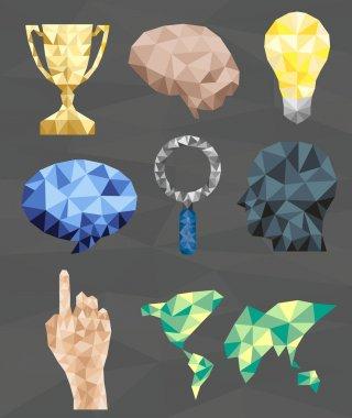 Polygonal geometric figures