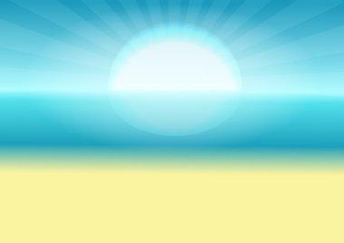 Sea , sun and sand.