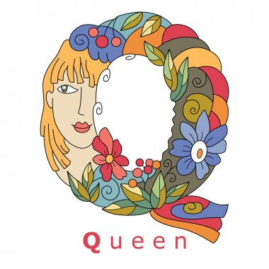Letter Q - quenn