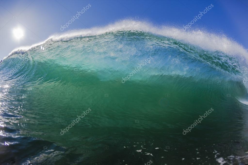 Wave Water Swimming Crashing