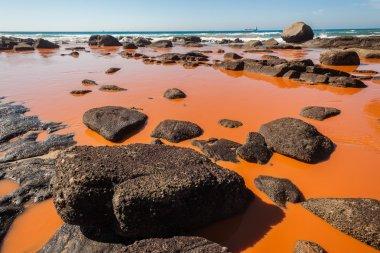 Pollution Industrial Waters Ocean Beach