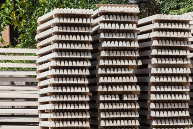 Concrete Products Drying Yard