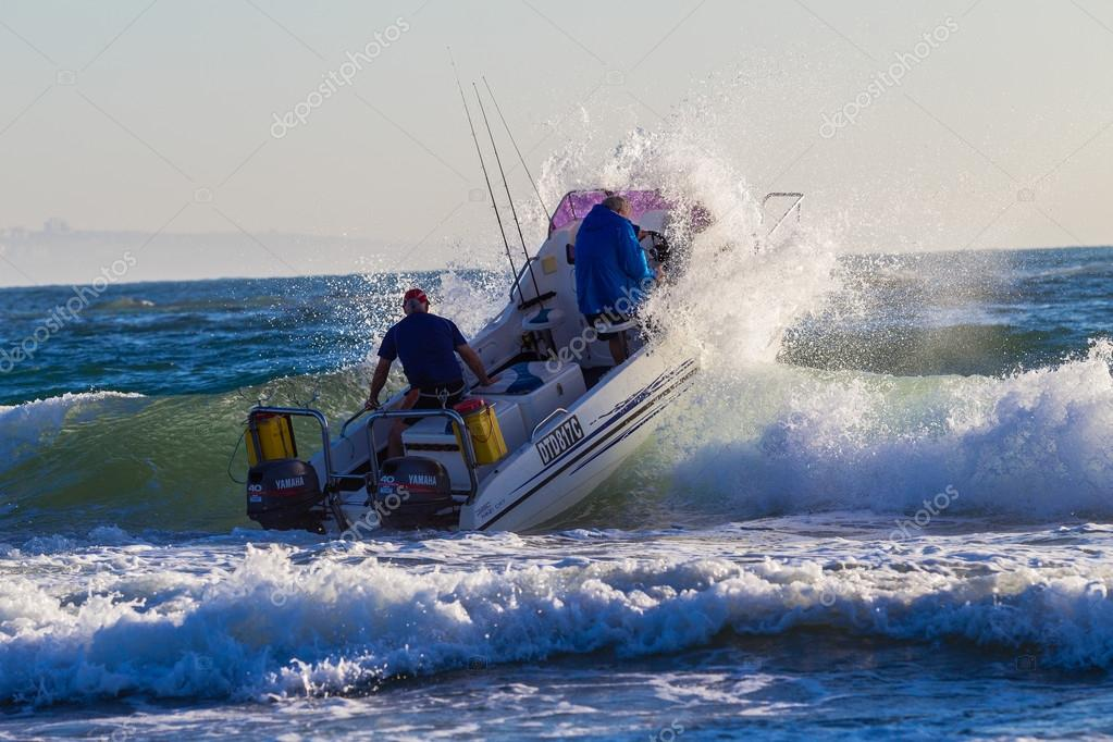 Fishing Competition Ski-Boats Ocean – Stock Editorial Photo