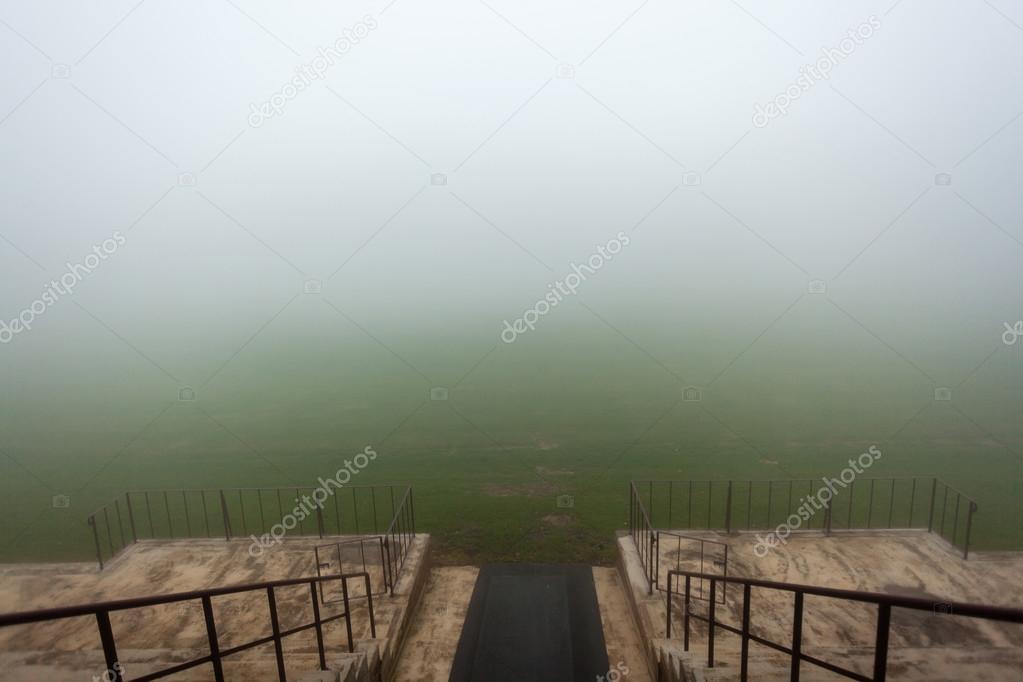 Stadium Players Entry Field Mist