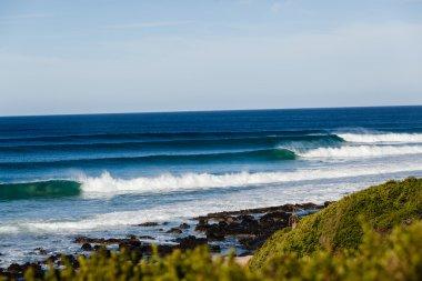 Waves Peeling Point