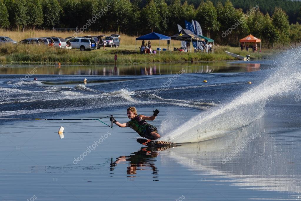 Water-Skiing Action Lake