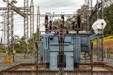 Electrical Transformer Substation