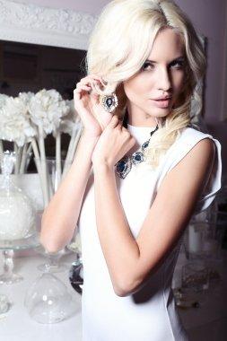 Beautiful girl with jewellery
