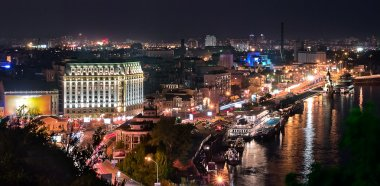 Night Kiev, Ukraine