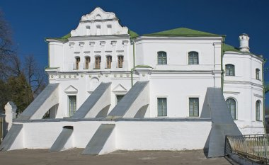 Old white house