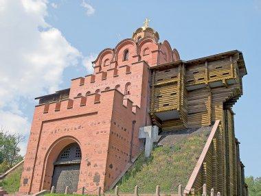 Kiev's famous Golden Gate