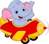 Fotografia cartone animato elefante