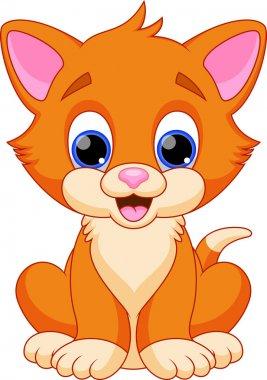 Funny cat cartoon