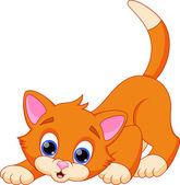 Photo Funny cat cartoon