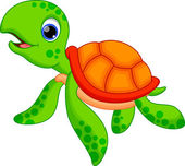 Turtle cartoon