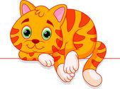Kreslená kočka