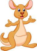 Fotografie Kangaroo cartoon