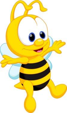 Cute baby bee cartoon
