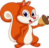 Fotografie Squirrel cartoon