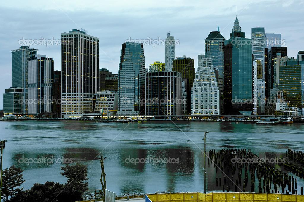 Profil De Manhattan New York é U Photographie