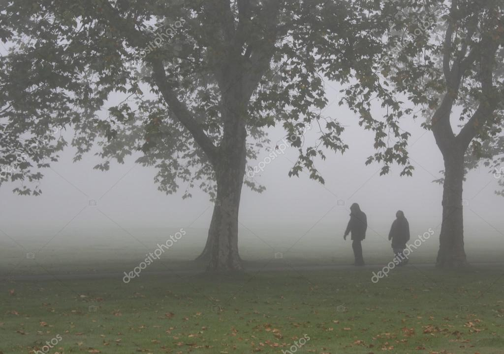 Zombies In The Fog Stock Photo Hectormanzana1 36470643