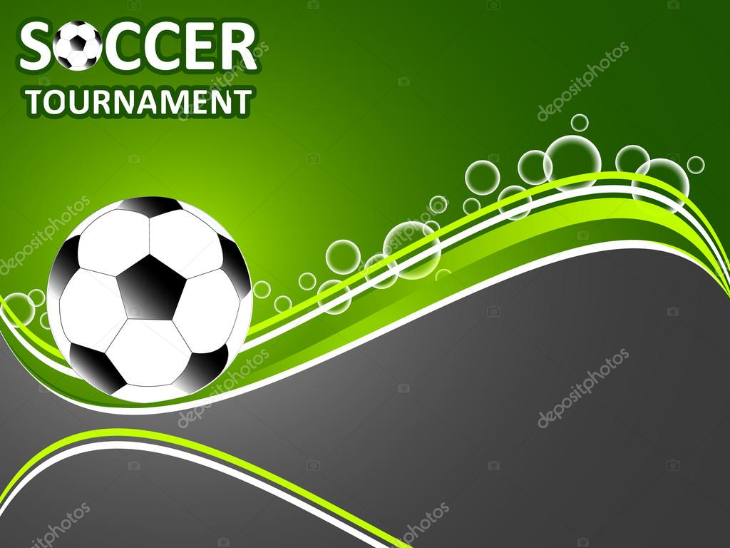 Depositphotos Stock Illustration Template For The Invitation Soccer Poster Tournament