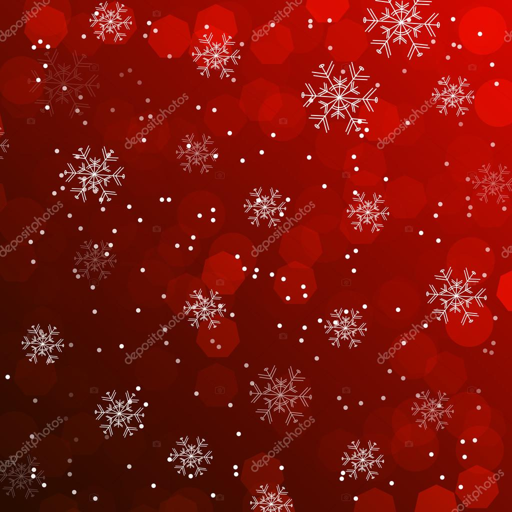 Christmas Wallpaper Background.Christmas Wallpaper Background With Snowflakes Stock