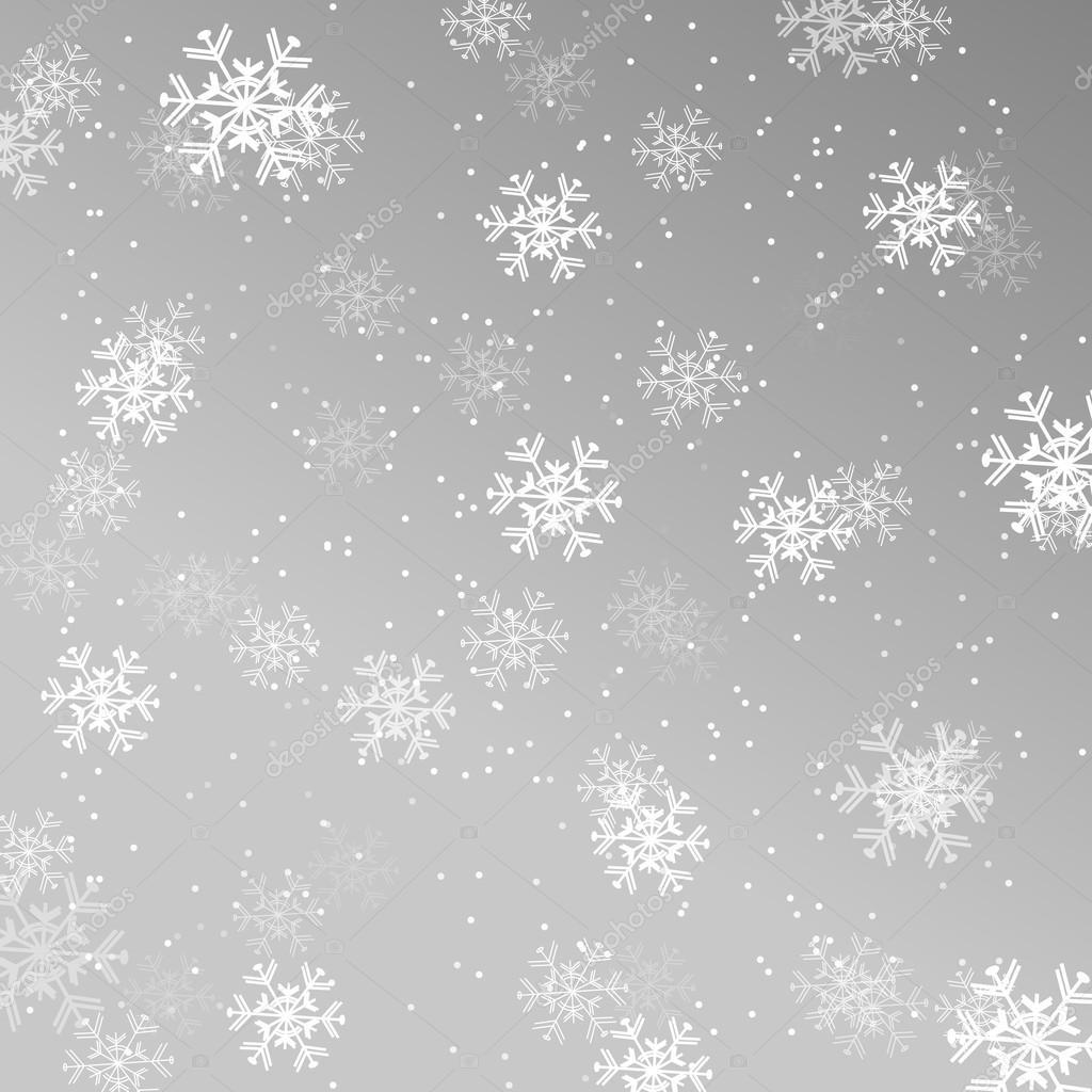 Fond d 39 cran de no l fond avec des flocons de neige for Fond ecran jul