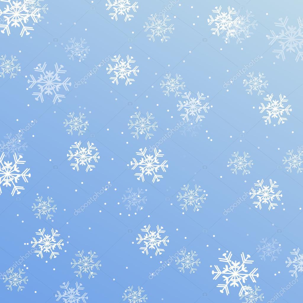 Vettore Sfondi Desktop Paesaggi Neve Sfondi Di Natale Fiocchi Di