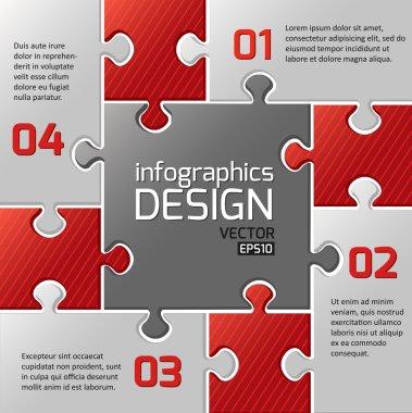 Infographics web design.