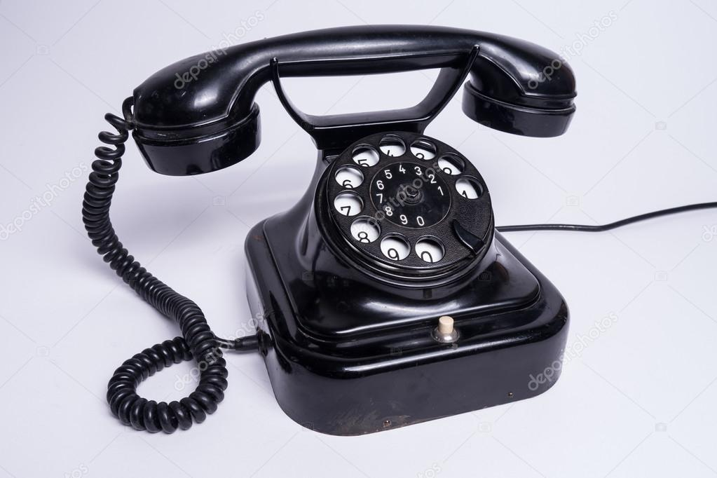 Old telephone — Stock Photo © spcreative #38663525