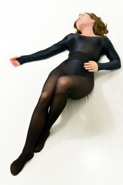 Ballerina in black