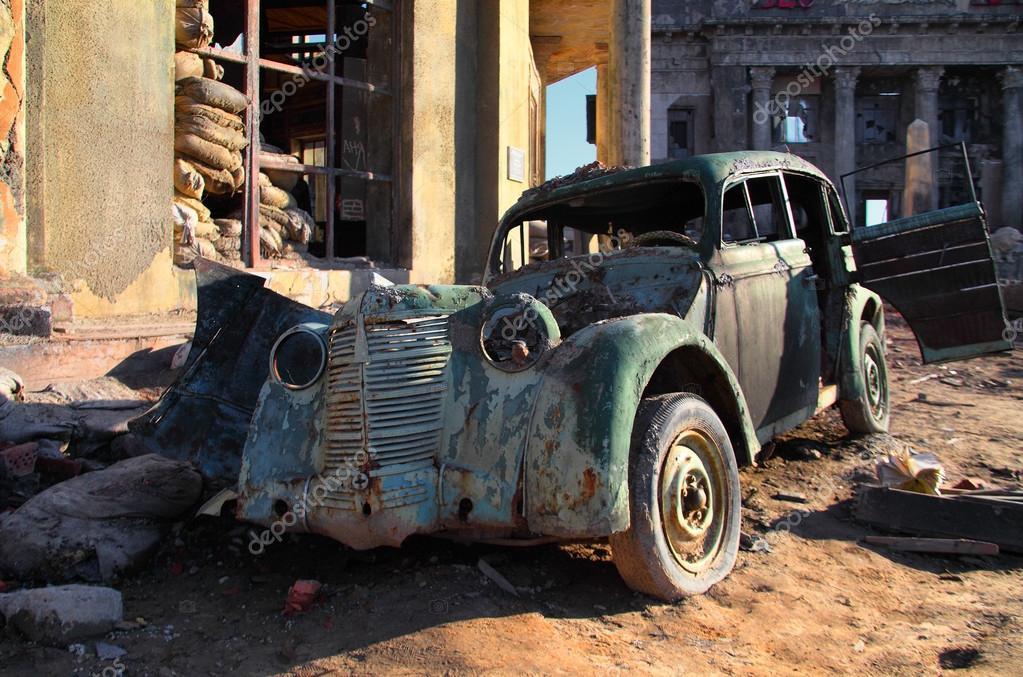 Abandoned old car — Stock Photo © saoirse2010 #36761701