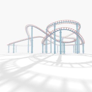 3d amusement park.