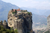 Photo Meteora, Greece. The Holy Trinity Monastery (UNESCO list of World Heritage)